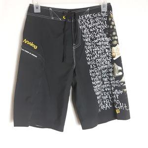 Analog Men's Size 30 Black Shorts